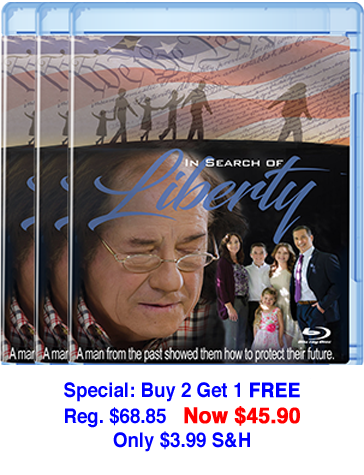 In Search of Liberty Blu-Ray 3 -pack