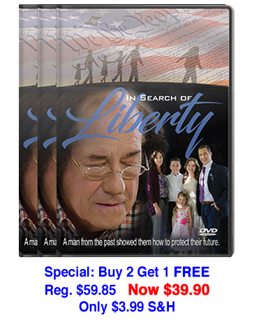 In Search of Liberty DVD 3-pack