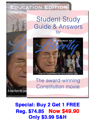 In Search of Liberty Education Edition DVD 3 Pack