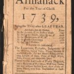 Poor Richard's Almanack 1739