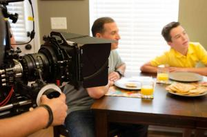 On set of In Search of Liberty