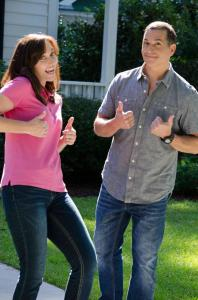 Karen Boles and Bobby Deen on set of In Search of Liberty