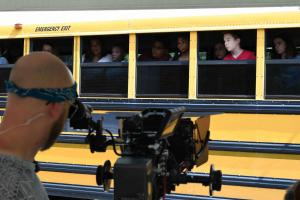 On set of In Search of Liberty movie