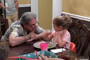 Director Norm Novitsky and Stella Rylee on set In Search of Liberty